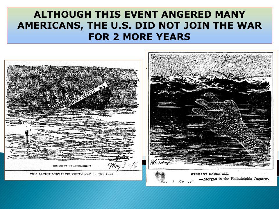 The Sinking of the Lusitania <>