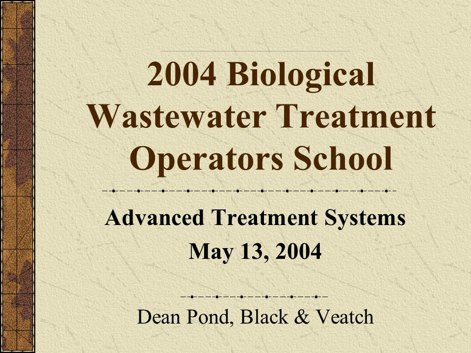 Advanced Treatment Systems Where in the treatment plant process flow could chemical precipitants be added?