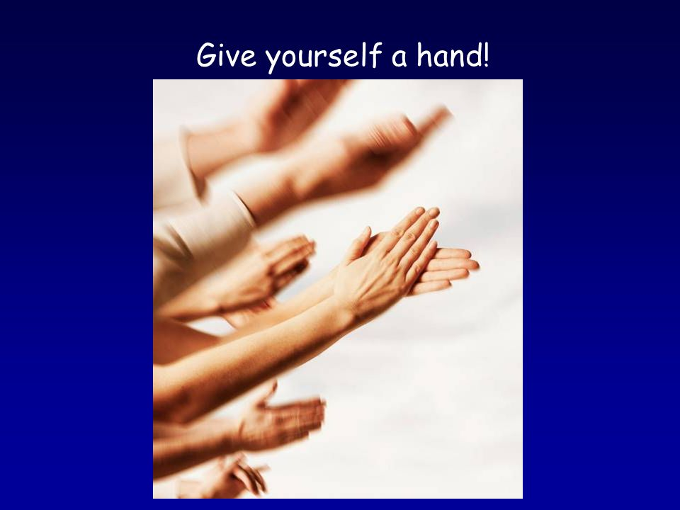 Now you know the secret of happy hands and a healthy you!
