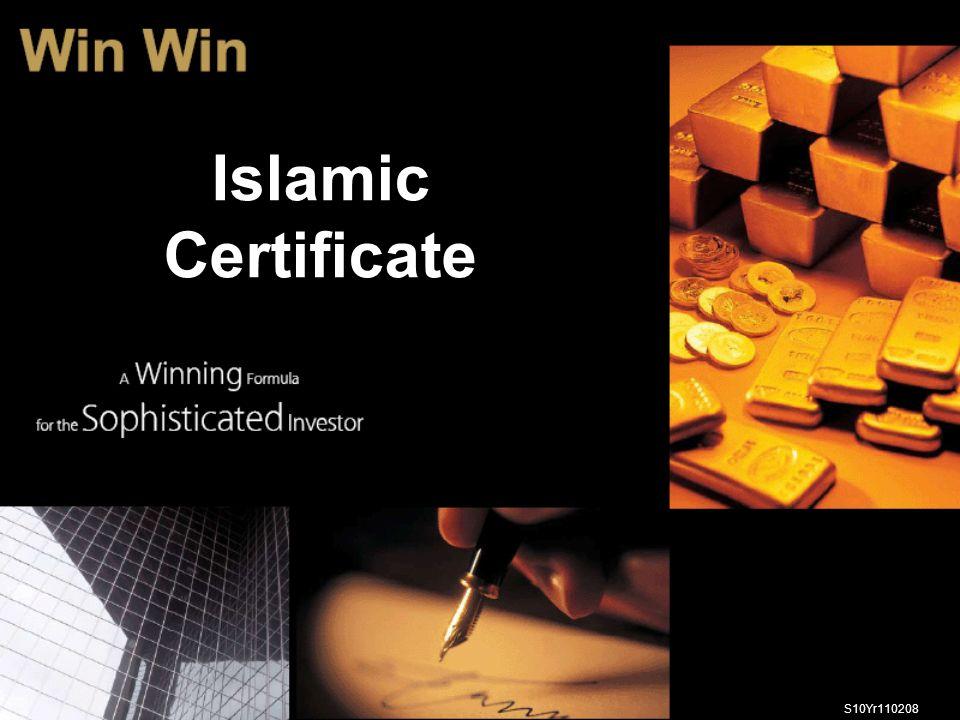 S10Yr110208 Islamic Certificate