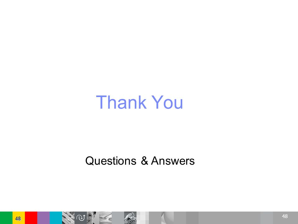 48 Thank You Questions & Answers