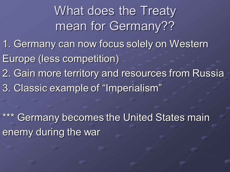 Major Battles involving U.S.1. Two Major Turning points after U.S.