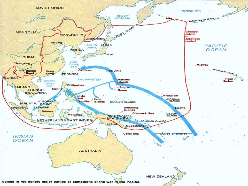 Battle of Coral Sea May 3-May 8 1942 Japan attempted to invade Port Moresby in Australia Started with Japanese invasion of Tulagi Ended with an air battle