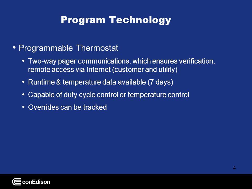 5 Thermostat Built into unit