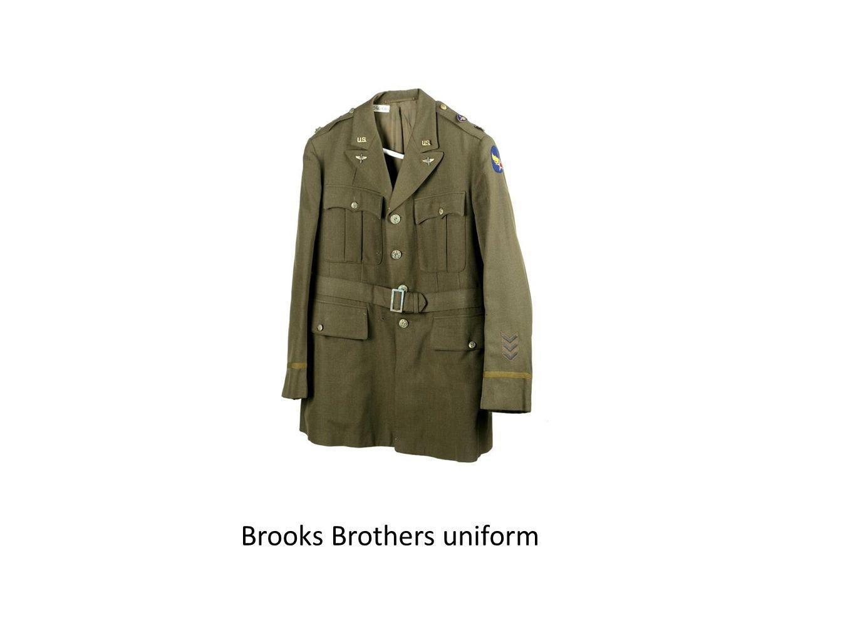 Brooks Brothers uniform