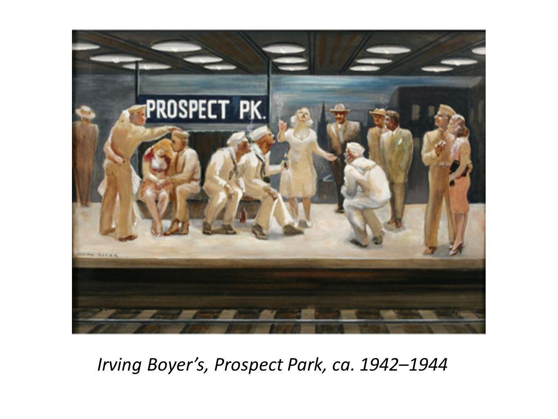 Irving Boyers, Prospect Park, ca. 1942–1944