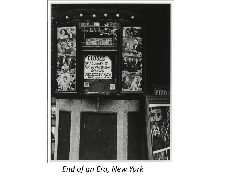 End of an Era, New York