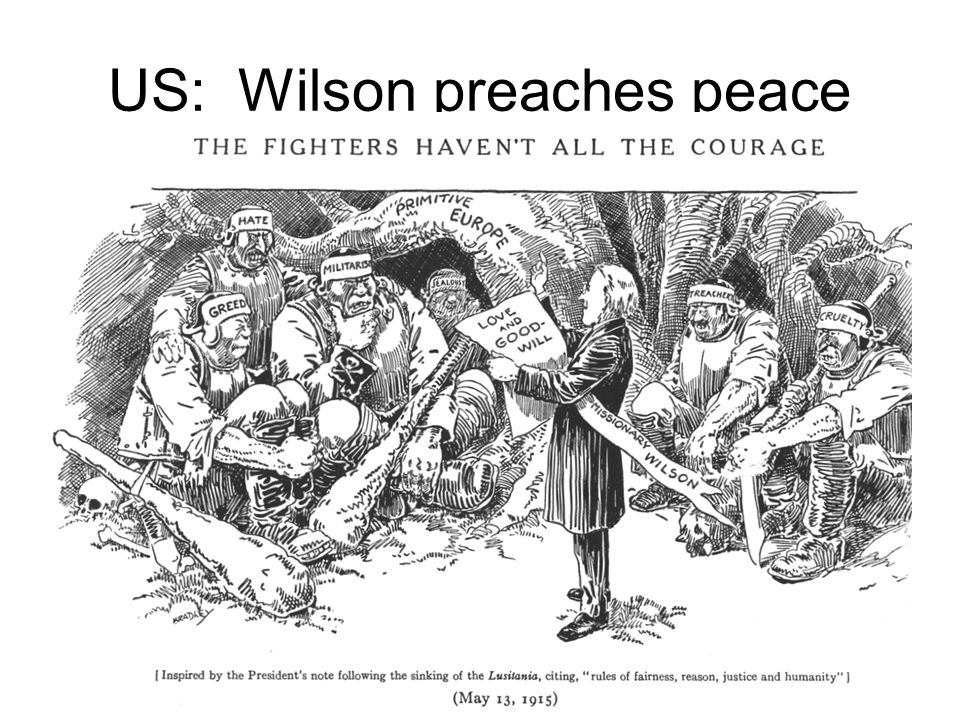 33 US: Wilson preaches peace