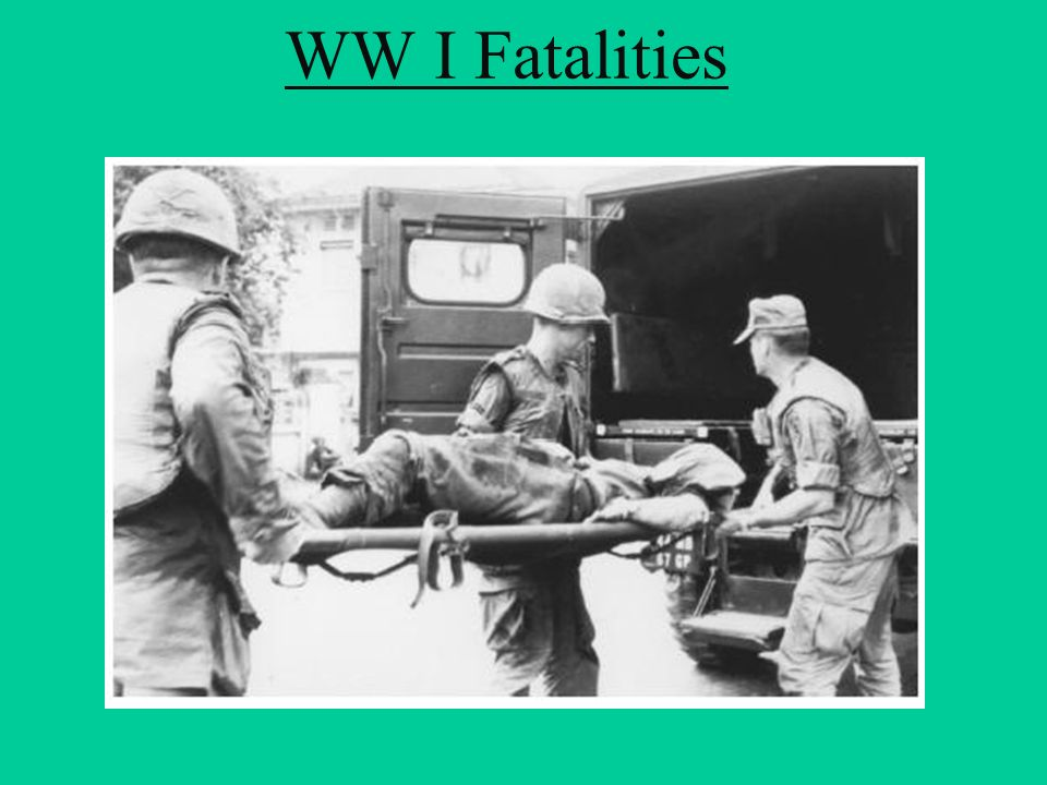 WW I Fatalities http://en.wikipedia.org/wiki/Atomic_bombings_of_Hiroshima_and_Nagasaki