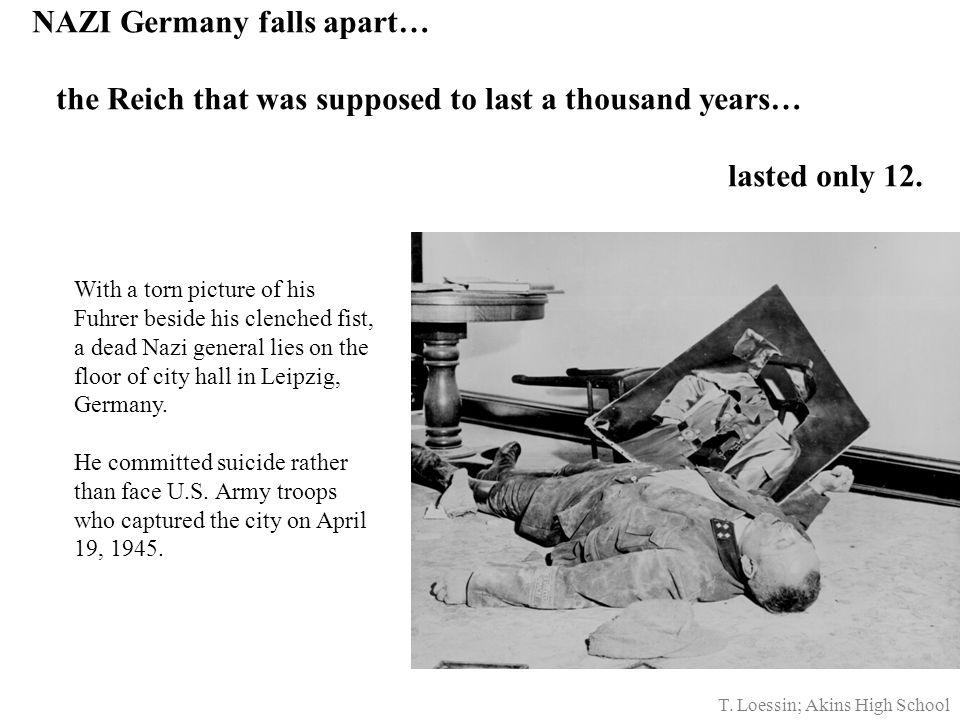 Germany Surrenders May 7, 1945