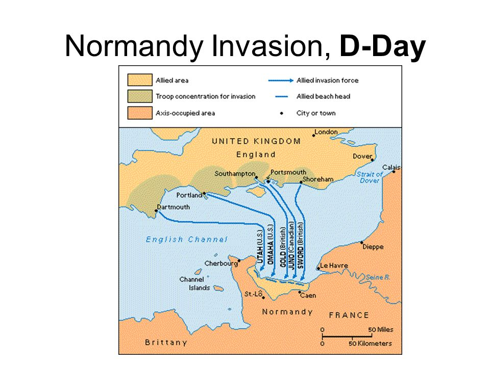 D-Day Invasion – Operation Overlord June 6, 1944 Opened up the planned second front in Europe … (something Stalin had been asking Churchill & Roosevel