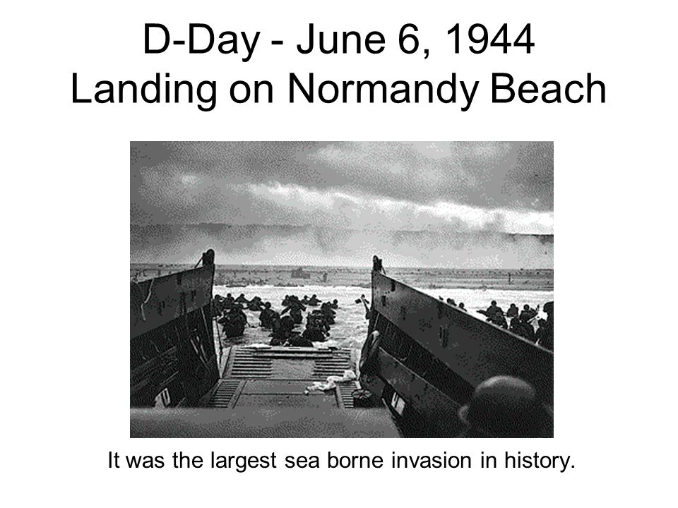 General Eisenhower Speaks Talking to his men, general Dwight D. Eisenhower, commander of the Normandy invasion, wished paratroopers luck before they d