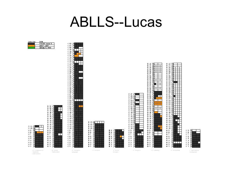 ABLLS--Lucas