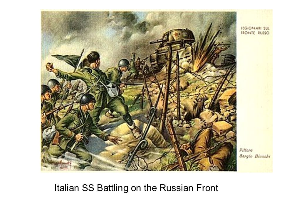 Italian SS Battling on the Russian Front