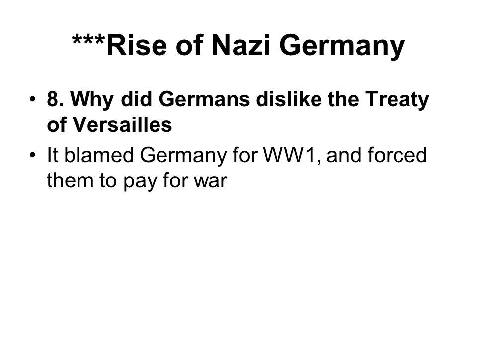 ***Rise of Nazi Germany 8.