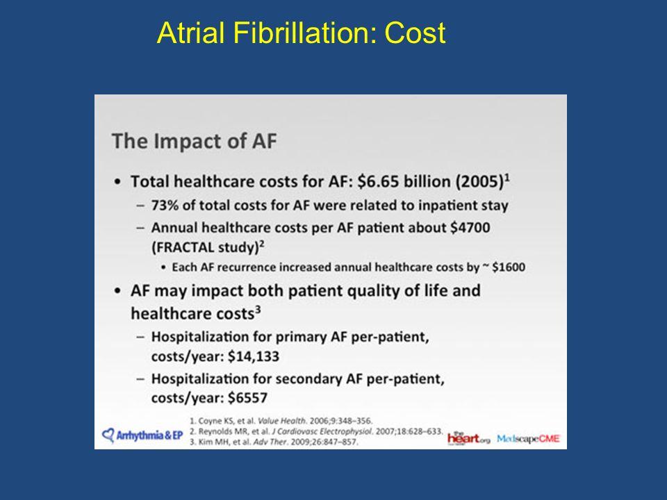 Atrial Fibrillation vs.