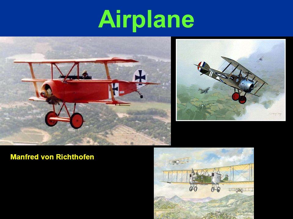 Airplane Manfred von Richthofen