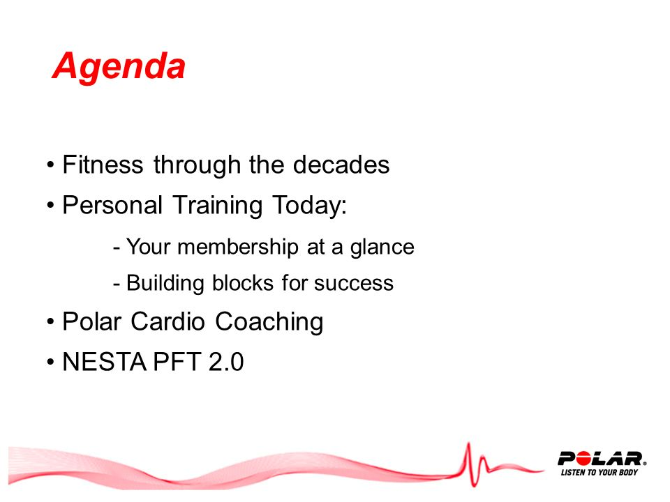 Training With PFT 2.0 and Polar: Your fitness staff will challenge members to be the best they can be.