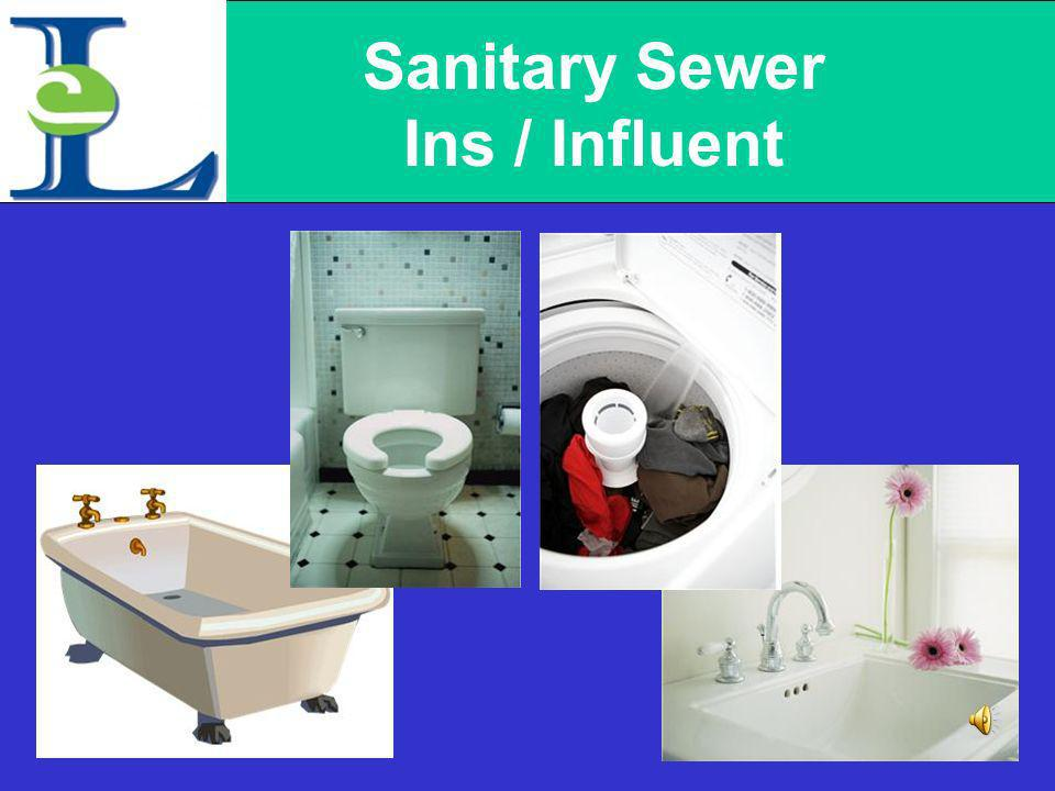 Sanitary Sewer Ins / Influent