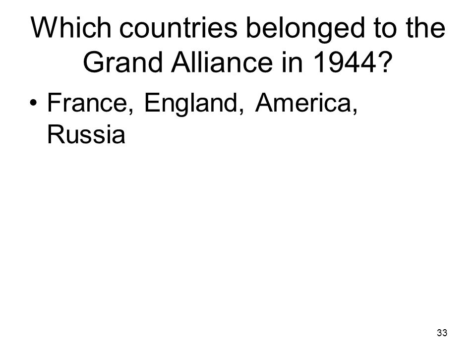 32 What countries made up the axis powers in 1942 Japan, Italy, Germany