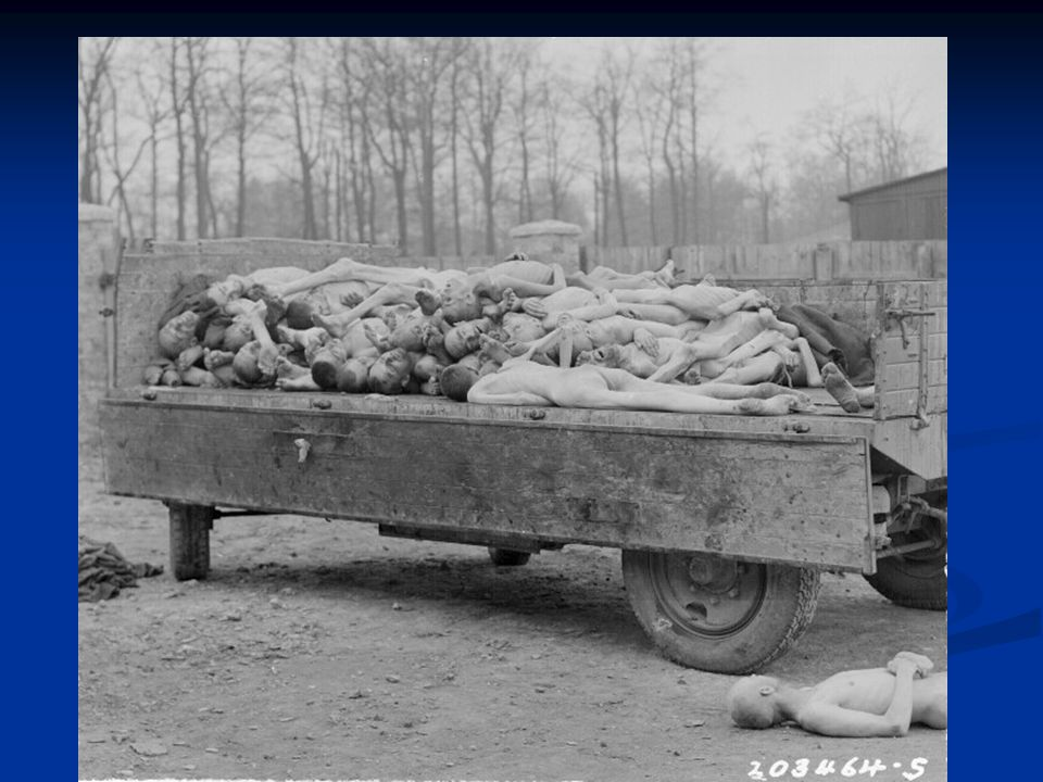 Death Camps - as war went badly for Germany, they tried to speed up Final Solution Final Solution: genocide of Jews -building of several death camps t