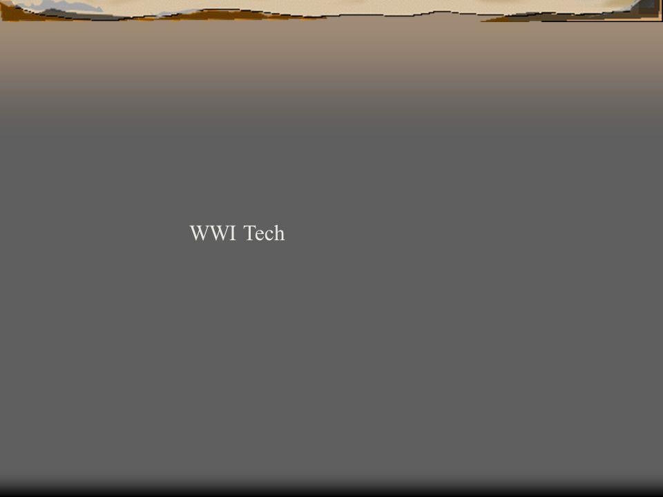 WWI Tech
