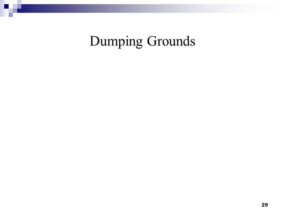 Dumping Grounds 29