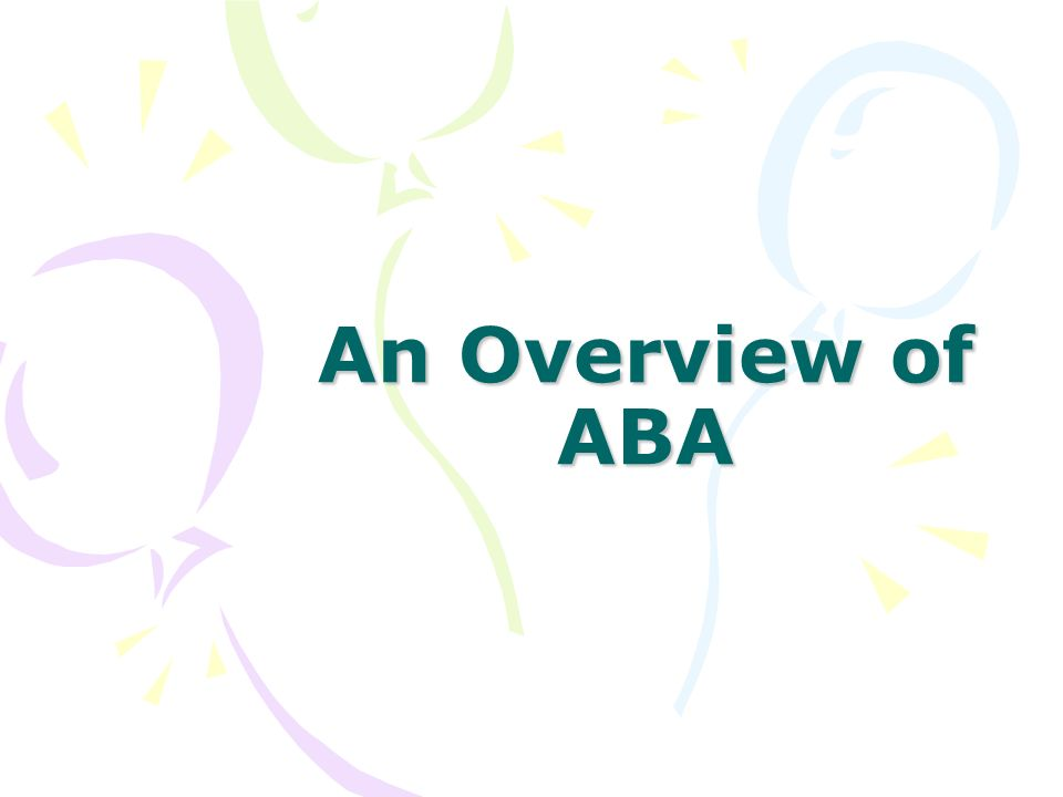 An Overview of ABA