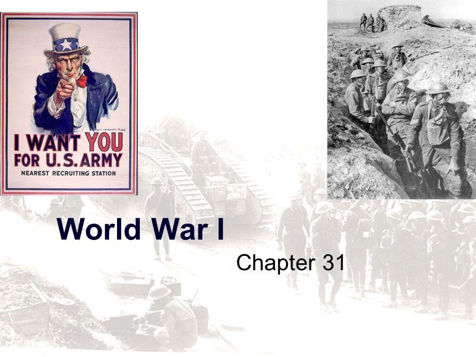 World War I Chapter 31