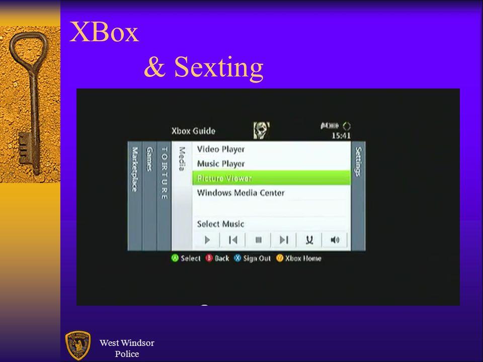 XBox & Sexting