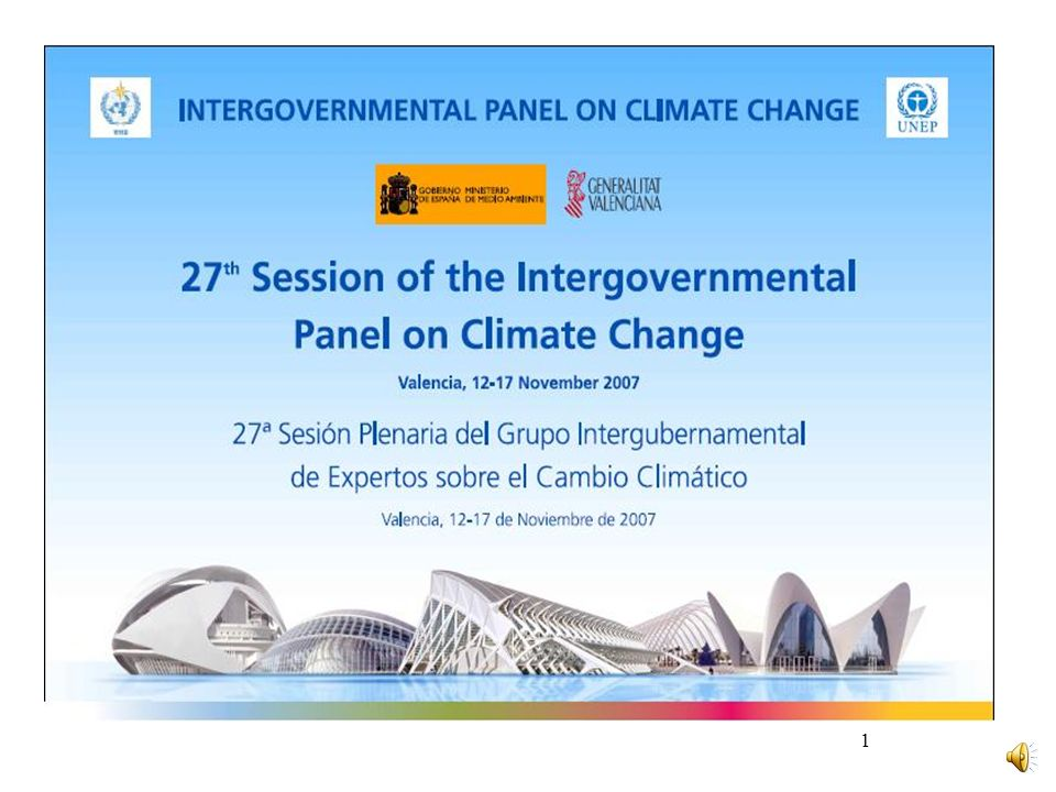INTERGOVERNMENTAL PANEL ON CLIMATE CHANGE (IPCC) Mitigation Costs The macro-economic costs of mitigation generally rise with the stringency of the stabilisation target In 2050, global average macro-economic costs for mitigation towards stabilisation between 710 and 445ppm CO 2 -eq are between a 1% gain and 5.5% decrease of global GDP Slowing average annual global GDP growth by less than 0.12 percentage points