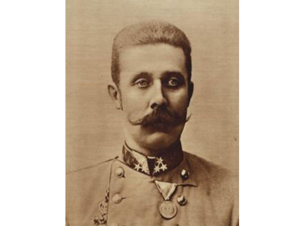 Archduke Franz Ferdinand Heir to the Austrian throne.