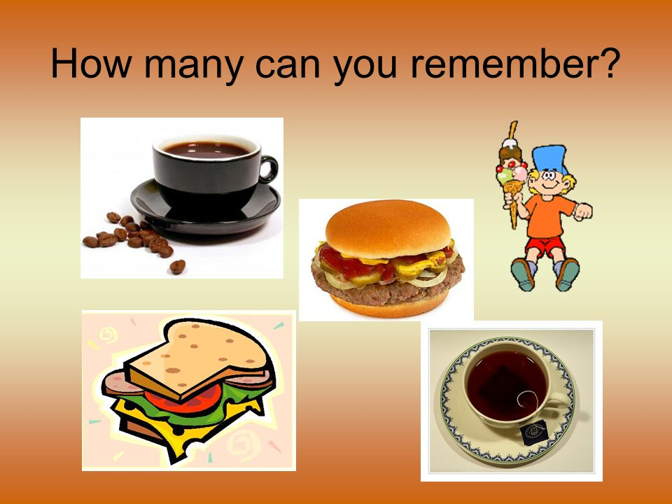 How many can you remember