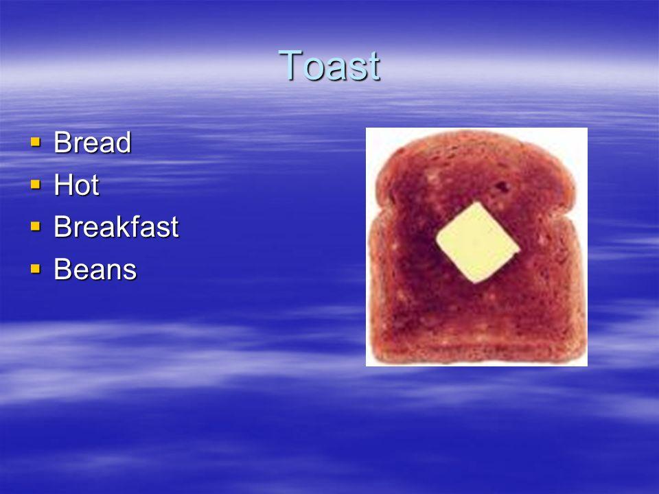 Toast Bread Bread Hot Hot Breakfast Breakfast Beans Beans