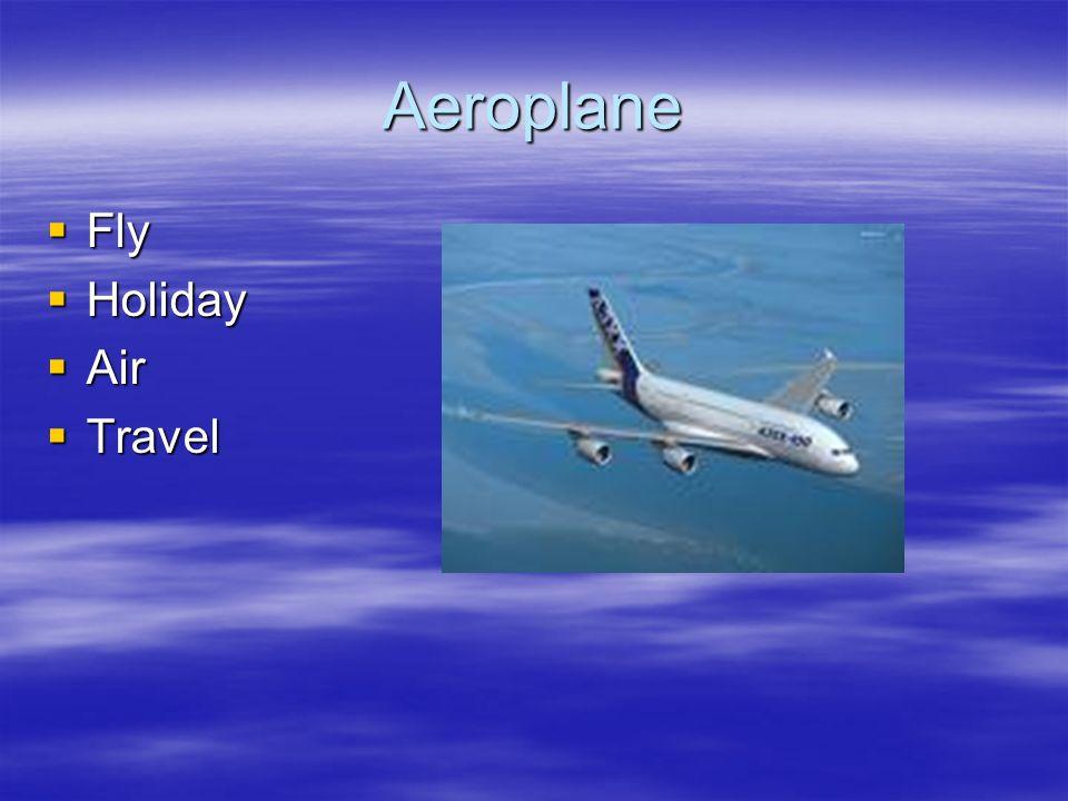 Aeroplane Fly Fly Holiday Holiday Air Air Travel Travel