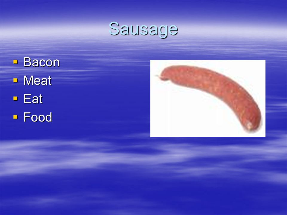 Sausage Bacon Bacon Meat Meat Eat Eat Food Food