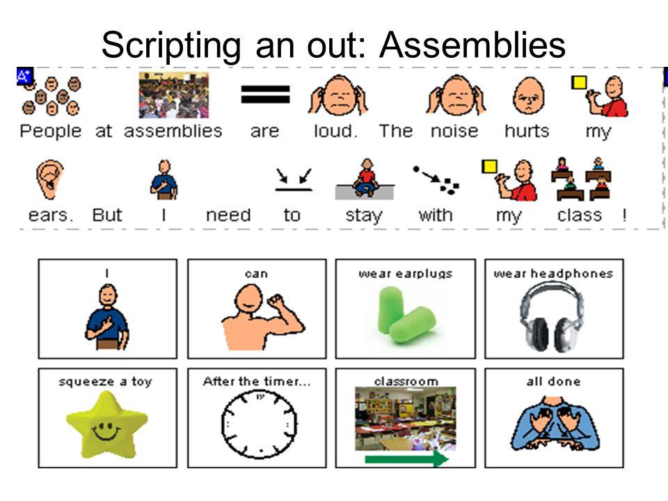 Scripting an out: Assemblies