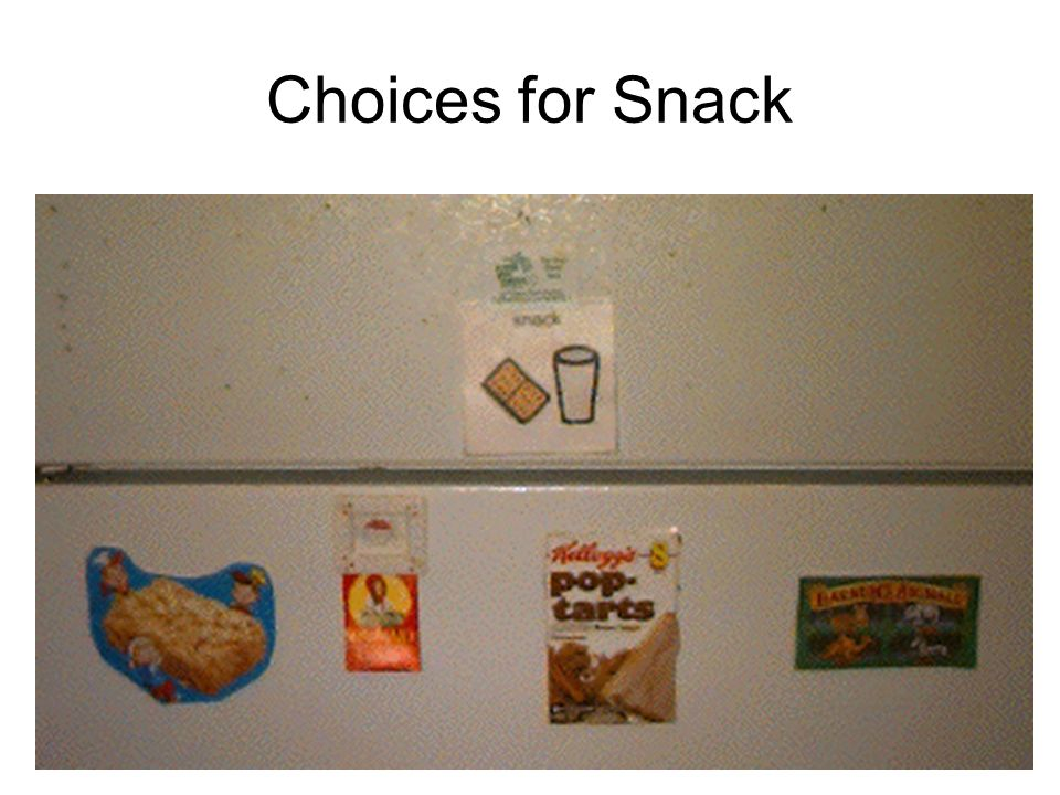 Choices for Snack