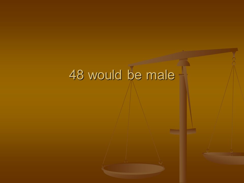 48 would be male