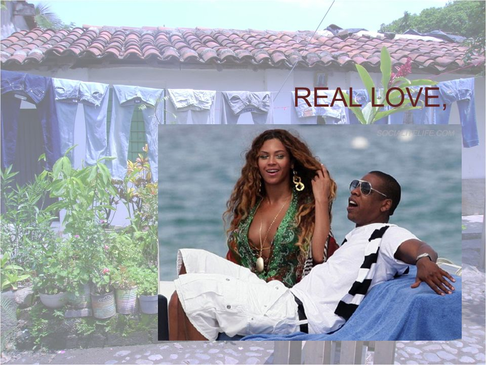 REAL LOVE,