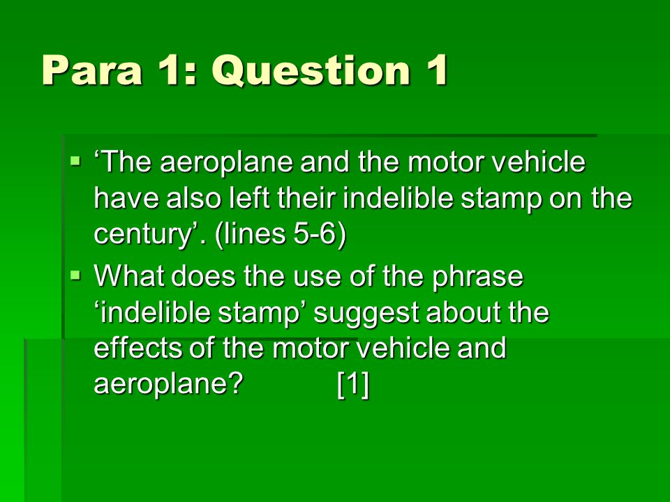 Answer 1 Their effect is permanent. Their effect is permanent.