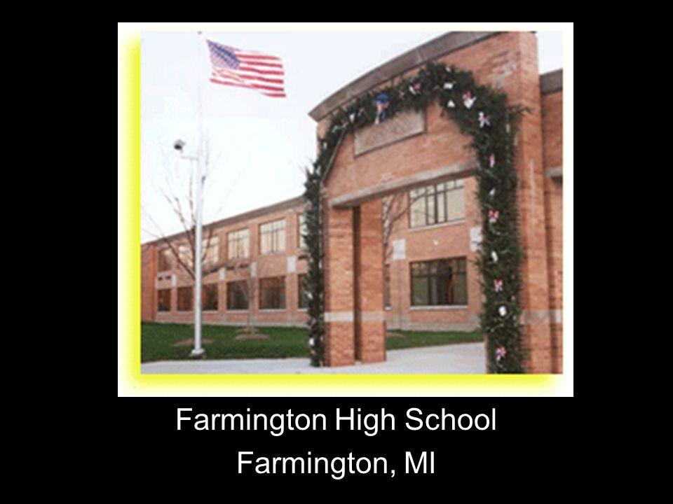 Farmington High School Farmington, MI