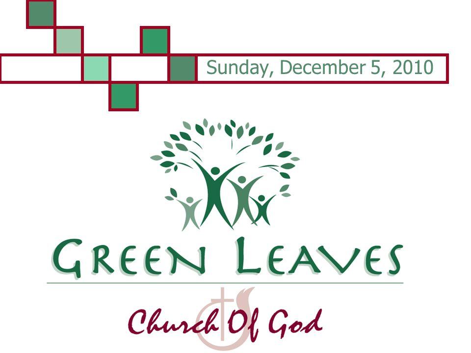 Sunday, December 5, 2010