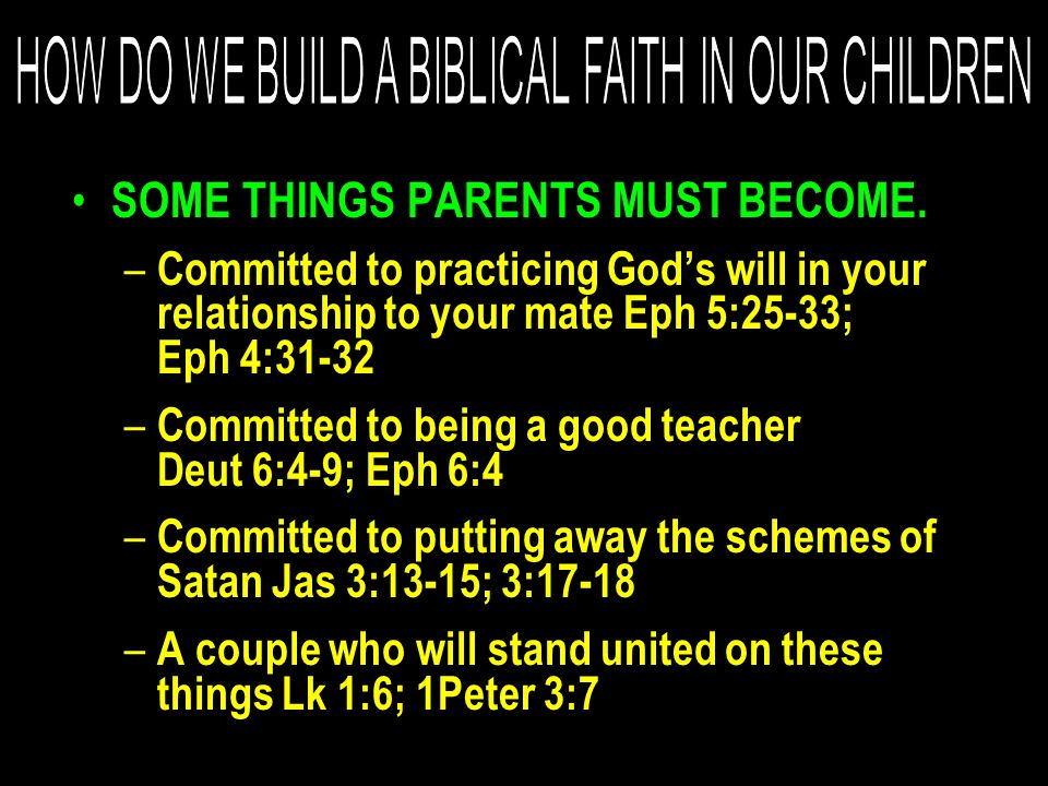Yes, some children leave the Lord in spite of all the best efforts of godly parents.