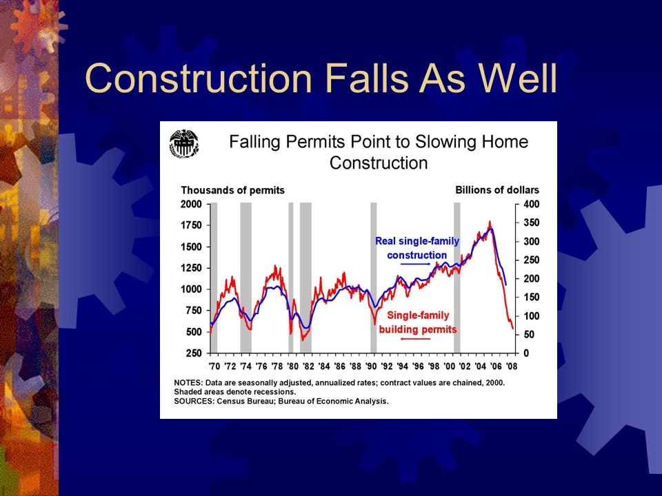 Construction Falls As Well