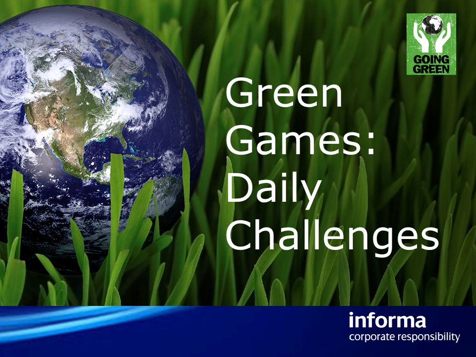 Green Games: Daily Challenges