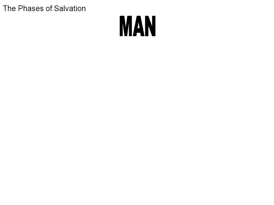 The Phases of Salvation
