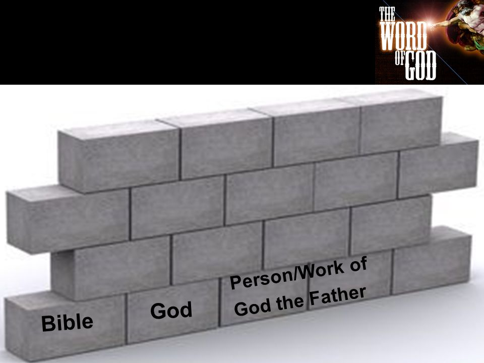 Bible Person/Work of God the Father God