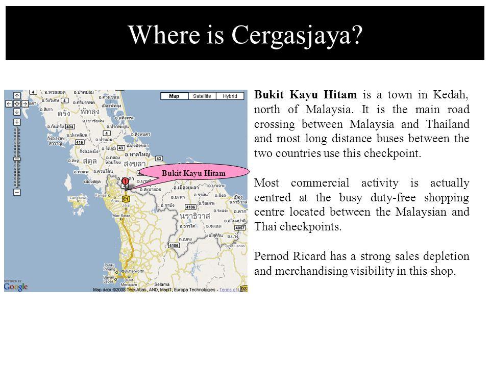 Bukit Kayu Hitam is a town in Kedah, north of Malaysia.