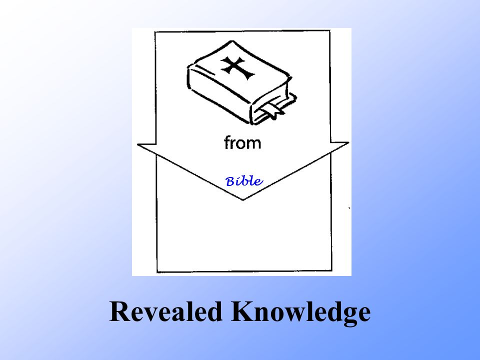 Revealed Knowledge Bible